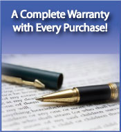 Big Jon's Used Appliances & Repair in Indianapolis has a warranty on all appliances
